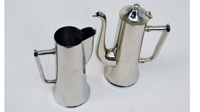 Tall, Steel Beverage Holders