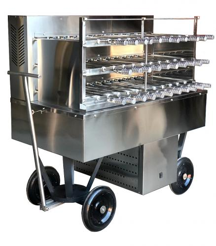 Catering Grill Charcoal 32SK 3G Clean (3)